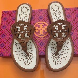 NEW Tory Burch Miller Scallop Sandals